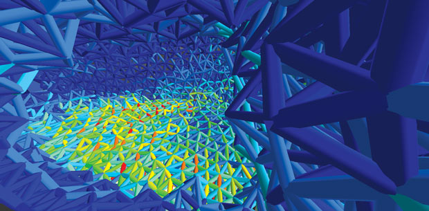 Altair-OptiStruct-lattice-structure